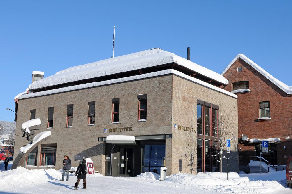 biblioteket i lillehammer