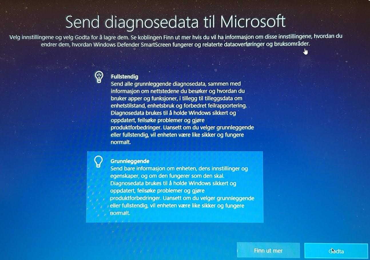 Bruke talegjenkjenning i Windows 10